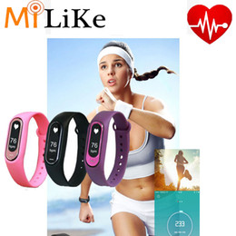 Wholesale Smart M2 - hot selling TW64S M2 M3 wristband Smart Band Fitness Activity Tracker Bluetooth 4.0 Smartband Sport Bracelet for IOS & MI Android Cellphone