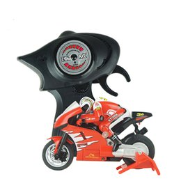 Wholesale High Speed Motorcycle - Speed Race Remote Control Electric RC Toy Sport High Speed Motorcycle Model With Gyroscope Best Gift For Kids Children