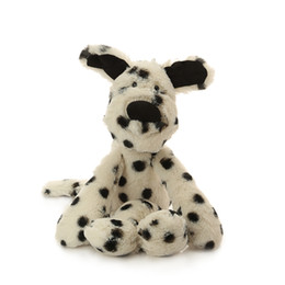 Wholesale Dalmatian Toy Dogs - Plush Giraffe Soft Toys Animal Dear Doll Baby Kids Dalmatian Dolls Regalos Originales Sleep Toys For Babies Gato Kawaii 60G0233