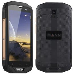 Wholesale Waterproof Unlocked Cell Phones - MANN ZUG 5S 4G LTE Phone 5.0 inch Quad Core IP67 Waterproof Android 4.4 Unlocked Cell Phones 4050mAh Battery