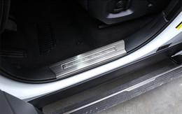 Deutschland Edelstahl Innentür Sill Platte Zierleiste für Range Rover Sport 2014-17 Einstiegsleisten Guard Scuff Plates Versorgung