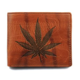 Wholesale Luxury Gift Bags Wholesale - mens Short Leather Wallet luxury wallets for Men Vintage Maple Leaf Purse designer purses Card Holder Money Bag man gifts wholesale NEW