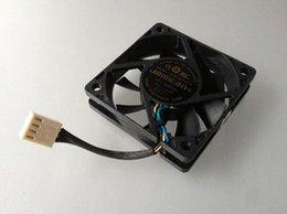 Wholesale Heat Sink Case - JAMICON KF0615H1HK-R 6CM 6015 12V 2.3W 60*60*15MM 4 line heat sink fan