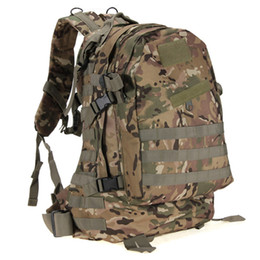 Wholesale Quality Tactical Backpack - 2017 Excellent quality 55L 3D Outdoor Sport Military Tactical Backpack Rucksack Bag Camping Traveling Hiking Trekking
