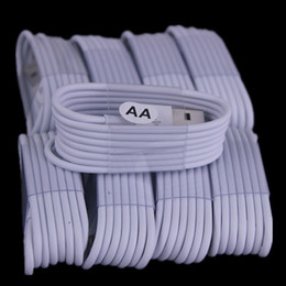 Wholesale quality chinese phones - AA Quality 1m 3FT White Black Color Micro V8 5pin usb data charging cable for samsung galaxy s6 s7 edge for htc lg phone