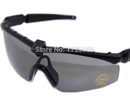 Wholesale pcs standards - US STANDARD ISSUE M Frame 2.0 3 Lenses Tactical Goggles Eyewear Army Shooting GLasses For Men Sport Sunglasses For Wargame