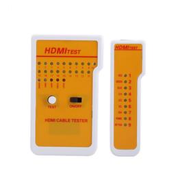 2019 tester lan lan di rete usb Freeshipping Portable HDMI Tester Strumento Tester per cavi remoto ad alta definizione con 9 indicatori LED