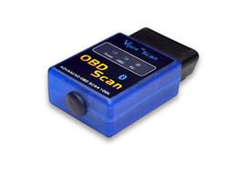 Wholesale Elm 327 Vgate - Mini ELM 327 Vgate Scan OBD2 OBDII ELM327 V1.5 Bluetooth Code Scanner Code Reader Vehicle Detection Instrument Fault Diagnosis Instrument