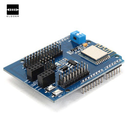 Wholesale Ics Degrees - Hot New Arrival ESP8266 Web Server Port WiFi Expansion Board Compatible -40~ + 125 Degree Centigrade Electric Modules Board