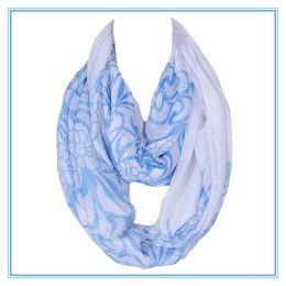 Wholesale Hijab Voile - Wholesale-Hot Sale Fashion Women Warp Ring Wholesale Voile Printing Femme Scarves Shawls Foulard Hijab Infinty Echarpe 180*50cm 2017 News