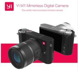 Wholesale International Cards - Free FEDEX Shipping International Version Original YI M1 Mirrorless Digital Camera With YI 12-40mm F3.5-5.6 Lens 42.5mm F1.8 Lens