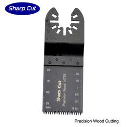 Ferramenta multimaster on-line-10 pacote de 34 MM de precisão de dentes japoneses ferramenta de oscilação de madeira multi ferramenta de lâmina de serra para ferramentas de poder Multimaster
