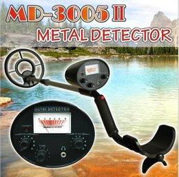 2019 bodensuche metalldetektor Bestes Kinderferiengeschenk! Unterirdischer Metalldetektor MD3005II für tiefe Suche Goldmetalldetektor für Kinderfeiertags-Geschenke !!