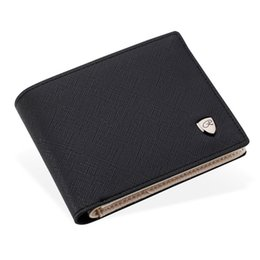 Wholesale Designer Portfolios - Wholesale- Credit Card Bag Money Pocket Large Capacity Coin Purses Men Wallet PU Leather Portfolio 2017 Famous Brand Designers Male Clutch