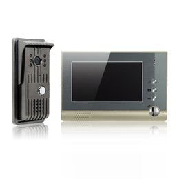 Wholesale Door Camera Screen - Alloy video door phone 7 inch TFT-LCD color screen cast iron outdoor camera