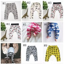 eeb0cd8db00d1 Baby Ins Pp Pants Ins Xmas Harem Pants Cotton Deer Moose Cloud Pants Kids  Fashion Leggings Girl Tights Newborn Trousers 10 Design A 080