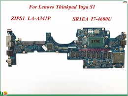 Wholesale Intel Motherboard Memory - FRU:04X6417 For Lenovo Thinkpad Yoga S1 Laptop Motherboard ZIPS1 LA-A341P SR1EA I7-4600U 8GB Memory DDR3 100% Tested