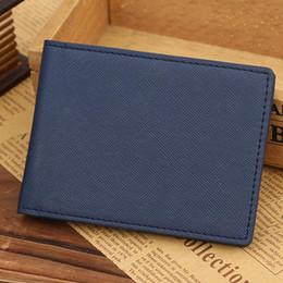 Wholesale Shop Wallets Men - Men Leather Bifold Cards Holder Slim Wallet Money Purse Billfold 2016 men wallets cartera hombre con monedero Anne shop