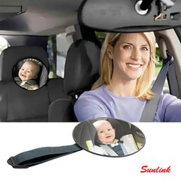 Wholesale Rear Child Seat - Car Safety Easy View Back Seat rear view mirror Baby Facing Rear Ward Child Infant Care Square Safety Baby Kids Monitor Car Accessories