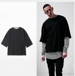 Wholesale Printed Season Tshirt - wholesale price oversized Men's t shirt homme clothes Season style t-shirt hip hop tshirt streetwear mens t shirts