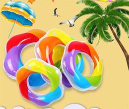 2019 juguetes inflables para adultos Los niños de verano flotador inflable nadar piscina juguetes para niños deportes acuáticos playa natación nadar adultos coloridos flotadores inflables de PVC DHL / Fedex rebajas juguetes inflables para adultos