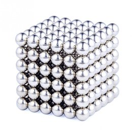Wholesale Magnetic Toys For Kids Building - 216 Pcs Set Cube Neodymium Magnet Balls 3mm Magnetic Balls for Building 2-D or 3-D Objects Cube Toys with 1 Metal Box #45