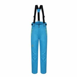 Wholesale Germany Pink - Wholesale- LumiParty 2017 Germany waterproof ski pants womens high quality snowboard men winter skiing pants