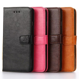 Wholesale Super Black Material - Super Soft PU Leather Case for iPhone7 7plus Crystal Material Leather Back Cover with high quality