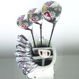ferros de golfe rígidos Desconto Novas mulheres clubes de Golfe Maruman FL golf conjunto completo de clubes driver + fairway wood + putter grafite eixo de golfe Frete grátis