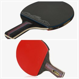 Wholesale Raquets Tennis - Durable Table Tennis Raquets Competition Rackets Two rackets Three Ball A Set High Quality Customizable LOGO