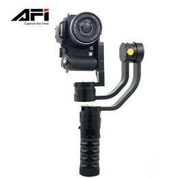 Wholesale Aluminum Gimbal - 2017 AFI Handheld Stabilizer 3-Axis Brushless Gimbal for DSLR Camera Support Weight 2kg As Beholder DS1