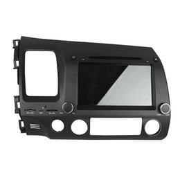 Wholesale Honda Civic Car Dvd Player - HD screen 8inch Car DVD player for Honda Civic left Andriod 5.1 OS with GPS,Steering Wheel Control,Bluetooth, Radio