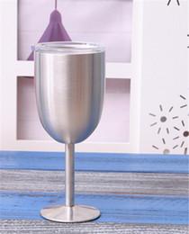 copos de café natal atacado Desconto Alta Qualidade 10 oz Copo de Vinho RÍTICO VIDRO Copo de Vinho Copo Taça Bilayer 10 oz Copos de Vinho Verdadeiro Norte VS Copos Swig