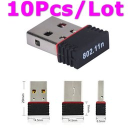 Wholesale Usb Wireless Adapter Skybox - WHOLESALE 10Pcs Lot Mini Ralink 5370 150Mbps Wireless WiFi USB Adapter LAN Network Card Adapter for SKYBOX   Openbox  STB