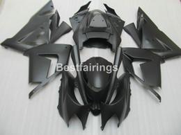Wholesale Black Kawasaki Ninja - Lower price moto parts fairing kit for Kawasaki Ninja ZX10R 04 05 matte black motorcycle fairings set ZX10R 2004 2005 YT51