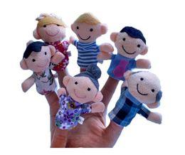Wholesale Outlet Costumes - Factory outlets, creative money, plush fingers, Puppet Toys, hand puppet dolls, a set of 6 Plush toys wholesale