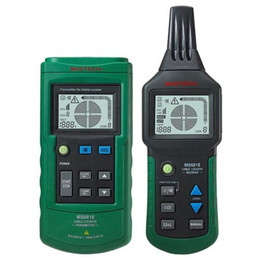 Wholesale Mastech Cable Tracker - MasTech MS6818 Advanced Wire Tracker Cable Tester Metal Pipe Locator Detector