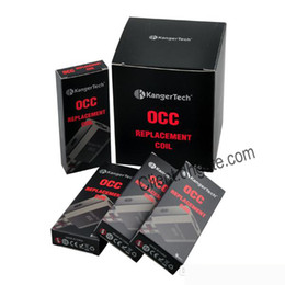 Substituição de ohm on-line-Kanger OCC Bobina Subtank Coil Substituição para Subtank Mini Nano Bobina 0.5ohm 1.2ohm 1.5 ohm DHL Frete Grátis