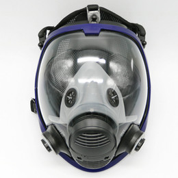 Wholesale Respirator Masks - Wholesale- Updated Full Face Mask For 3M 6800 Gas Mask Full Face Facepiece Respirator For Painting Spraying Free Shipping