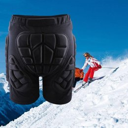 Wholesale Knee Padded Sports Pants - Wholesale- 1PC High Quality Sport Safety Outdoor Gear Hip Protective Padded Shorts Skate Skating Snowboard Pants#