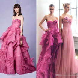 Wholesale Elie Saab Prom Dresses Sweetheart - Elie Saab Flower Dresses Evening Wear 2017 Lace Appliqued Vintage Prom Ball Gowns Sexy Sweetheart Arabic Formal Party Dress