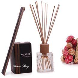 Wholesale Volume Settings - Wholesale- 200ml Large Volume Diffuser Reed Sticks Aromatherapy Oil Sets Oil Essential Aromatherapy Lavender Ocean Jasmine Sandalwood,etc