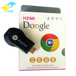 Wholesale Dlna Wifi Dongle - Newest TV Stick Anycast M2 Plus wifi Miracast DLNA Airplay Dongle For iOS Andriod Windows 8.1 Better Than EzCast Chromecast