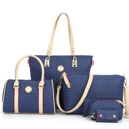 Wholesale One Piece Japan - 2016 Women's Cross-Body Handbag Picture Package Five Pieces Set One Shoulder Handbag Cross-Body England Style Composite Bag