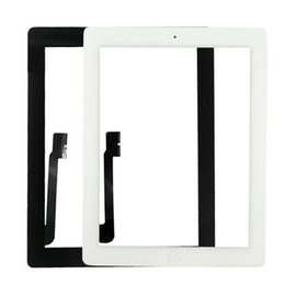 Wholesale Capacitive Touch Ic - Touch Screen With Adhesive Glue Tape 3M with Home Button With Ic For Ipad 2 3 4 Touch Screen