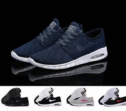 Wholesale clear tags - New Arrival Mens Running Shoes With Tag New fashion SB Stefan Janoski Mens and womens Fashion Sneakers shoes EU36-45 Free Shipping