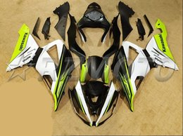 Wholesale Matte Black Fairings - New Motorcycle ABS Injection Fairing Kit 100% Fit For kawasaki Ninja ZX6R 599 636 13-16 ZX-6R 2013 2014 2015 2016 matte green black white