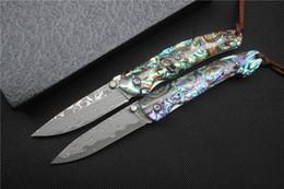 2020 beste neue taktische messer NEU !! Hohe Qualität Taschenmesser Damaskus Stahlklinge Farbe Shell Griff Tactical Messer Überleben Camping Messer beste Sammlung Geschenk günstig beste neue taktische messer