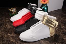 2019 gancho liso Mixcolor Margiela Corrida dos homens Esportes Calçados calcanhar Plana Sapatos Casuais de couro Genuíno Gancho Gentmen Moda Sneakers gancho liso barato