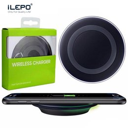 Wholesale Galaxy Note Smart Phone - Hot Universal Qi Wireless Charger Quick Charging Docks 5V For Samsung Note 8 Galaxy S7 S8 Note8 iPhone 8 X For Qi-enabled Smart Phones